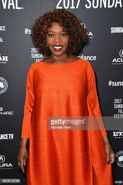 Actress Alfre Woodard attends the Burning Sands Premiere at Eccles Center Theatre on January 24 2017 in Park City Utah