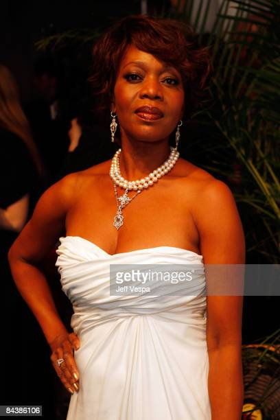 Actress Alfre Woodard attends The Creative Coalition's Inaugural Ball at the Harmon Center for the Arts on January 20 2009 in Washington DC