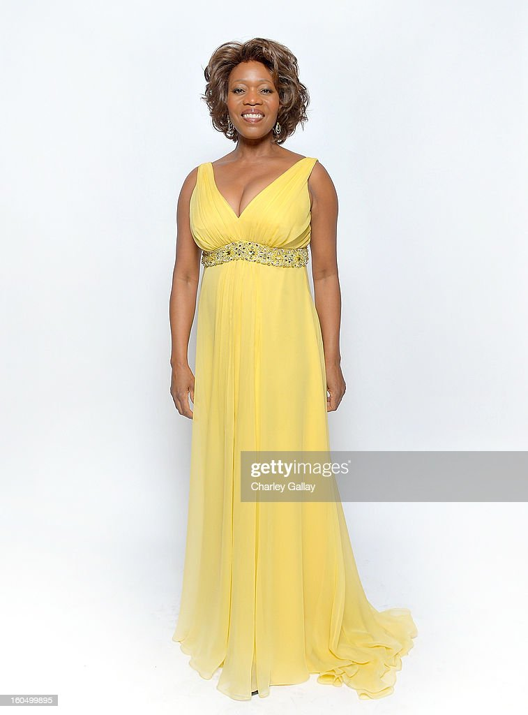 Actress Alfre Woodard poses for a portrait during the 44th NAACP Image Awards at The Shrine Auditorium on February 1, 2013 in Los Angeles, California.