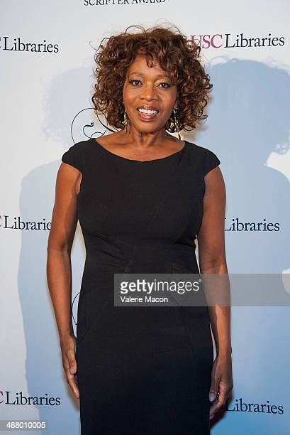 Actress Alfre Woodard The USC Libraries 26th Annual Scripter Awards at USC on February 8 2014 in Los Angeles California