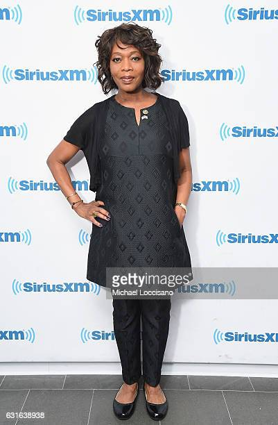 Actress Alfre Woodard visits SiriusXM Studios on January 13 2017 in New York City