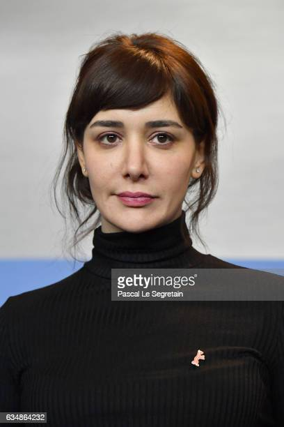 Actress Algi Eke the 'Inflame' press conference during the 67th Berlinale International Film Festival Berlin at Grand Hyatt Hotel on February 12 2017...