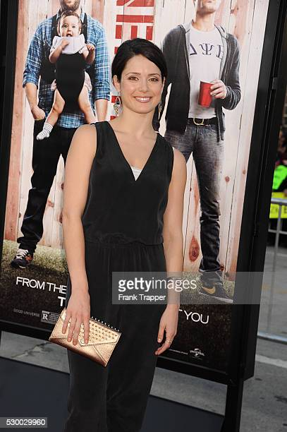 Actress Ali Cobrin arrives at he premiere of 'Neighbors' held at the Regency Village Theater in Westwood