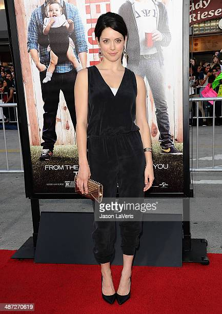 Actress Ali Cobrin attends the premiere of 'Neighbors' at Regency Village Theatre on April 28 2014 in Westwood California