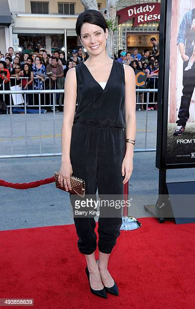 Actress Ali Cobrin attends the premiere of 'Neighbors' on April 28 2014 at Regency Village Theatre in Westwood California