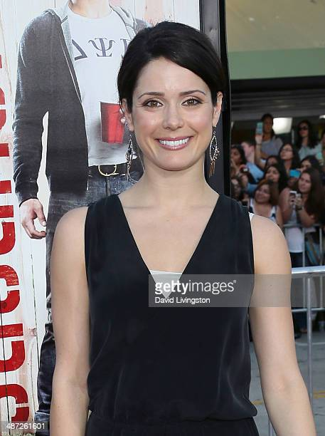 Actress Ali Cobrin attends the premiere of Universal Pictures' 'Neighbors' at Regency Village Theatre on April 28 2014 in Westwood California