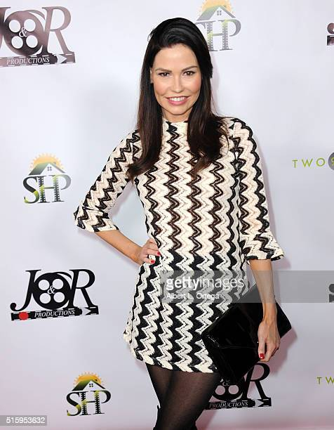 Actress Ali Costello arrives for the Premiere Of JR Productions' Halloweed held at TCL Chinese 6 Theatres on March 15 2016 in Hollywood California