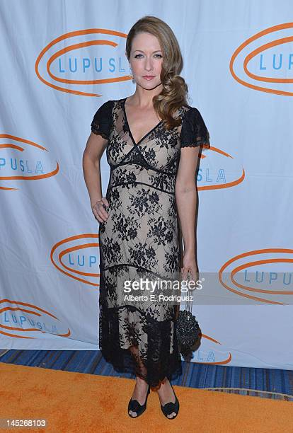 Actress Ali Hillis arrives to the 12th Annual Lupus LA Orange Ball held at the Beverly Wilshire Four Seasons Hotel on May 24 2012 in Beverly Hills...
