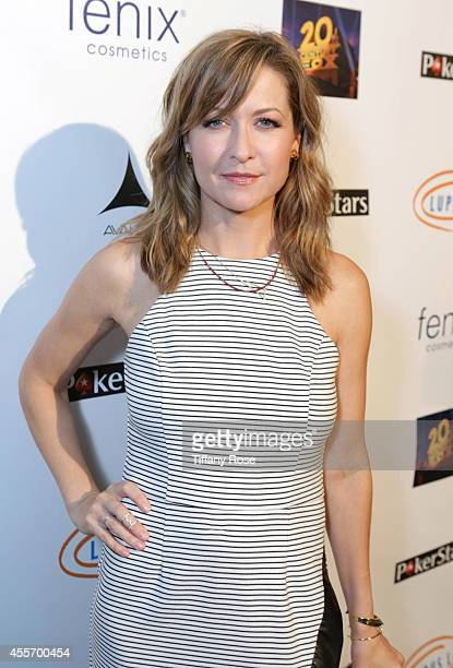 Actress Ali Hillis attends Get Lucky For Lupus LA on September 18 2014 in Beverly Hills California