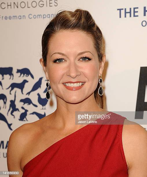 Actress Ali Hillis attends the 26th Genesis Awards at The Beverly Hilton Hotel on March 24 2012 in Beverly Hills California