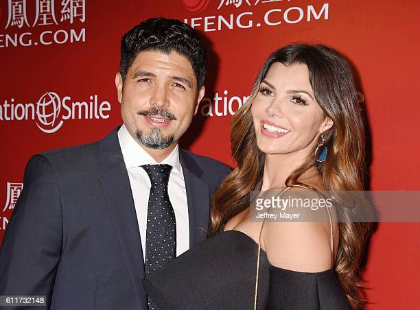 Actress Ali Landry and husband/director Alejandro Gomez Monteverde arrive at Operation Smile's Annual Smile Gala at the Beverly Wilshire Four Seasons...