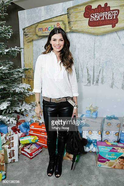 Actress Ali Landry attends 2015 Santa's Secret Workshop Benefiting LA Family Housing at Andaz Hotel on December 5 2015 in Los Angeles California