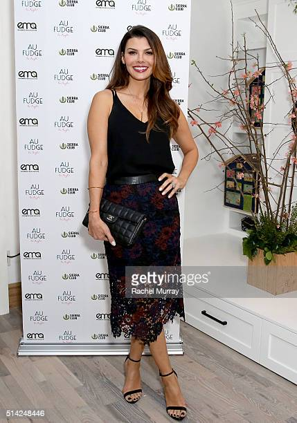 Actress Ali Landry attends EMA Sierra Club present 'Ready For 100 Green Leaders' at AU FUDGE on February 16 2016 in West Hollywood California