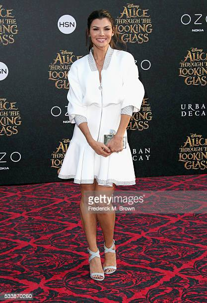 """Actress Ali Landry attends the premiere of Disney's """"Alice Through The Looking Glass at the El Capitan Theatre on May 23, 2016 in Hollywood,..."""
