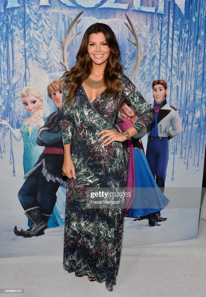 Actress Ali Landry attends the premiere of Walt Disney Animation Studios' 'Frozen'at the El Capitan Theatre on November 19, 2013 in Hollywood, California.