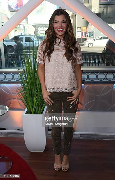 Actress Ali Landry poses at Hollywood Today Live at W Hollywood on November 4 2016 in Hollywood California