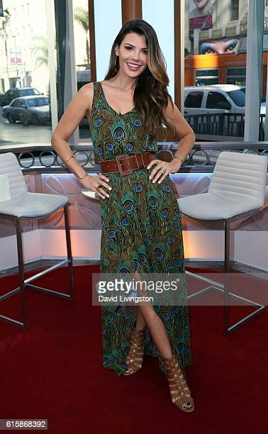 Actress Ali Landry poses at Hollywood Today Live at W Hollywood on October 20 2016 in Hollywood California
