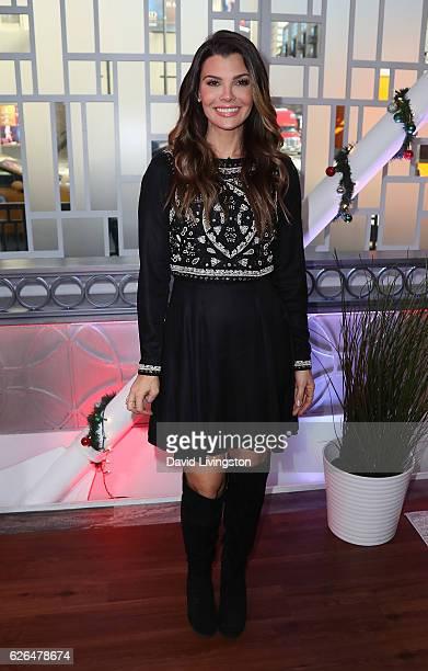 Actress Ali Landry poses at Hollywood Today Live at W Hollywood on November 29 2016 in Hollywood California