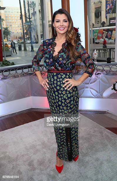Actress Ali Landry poses at Hollywood Today Live at W Hollywood on December 15 2016 in Hollywood California