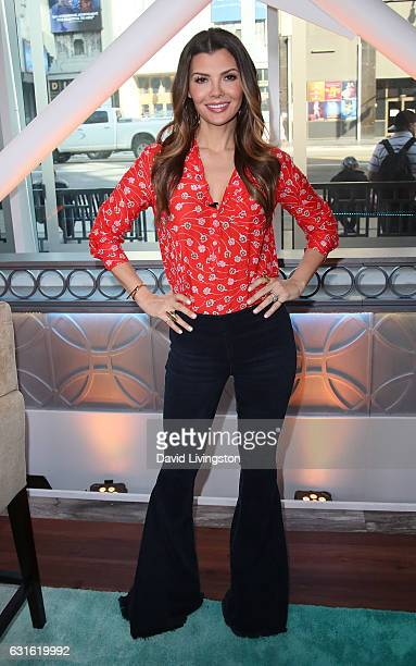 Actress Ali Landry poses at Hollywood Today Live at W Hollywood on January 13 2017 in Hollywood California
