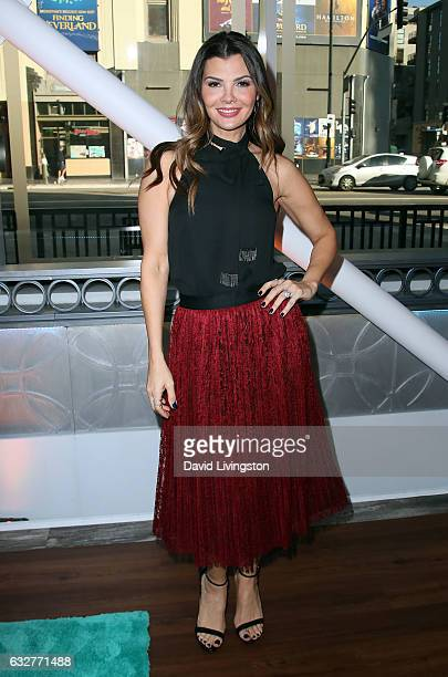Actress Ali Landry poses at Hollywood Today Live at W Hollywood on January 26 2017 in Hollywood California