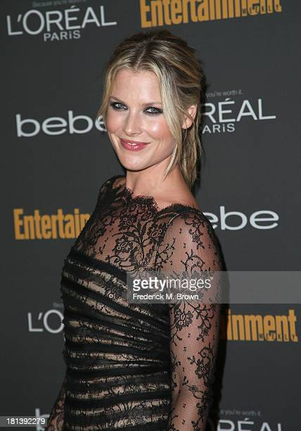 Actress Ali Larter arrives at Entertainment Weekly's Pre-Emmy Party at Fig & Olive Melrose Place on September 20, 2013 in West Hollywood, California.