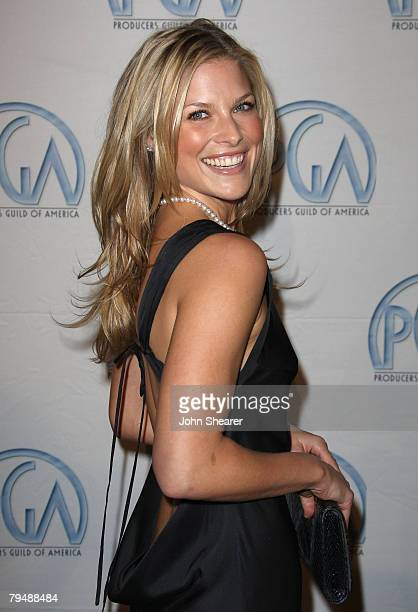 Actress Ali Larter arrives at the 19th annual Producers Guild Awards held at the Beverly Hilton Hotel on February 2, 2008 in Los Angeles, California.