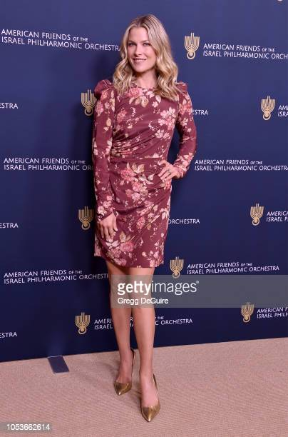 Actress Ali Larter arrives at the American Friends of the Israel Philharmonic Orchestra Los Angeles Gala at Wallis Annenberg Center for the...