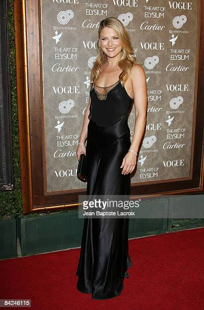 Actress Ali Larter arrives at the Art of Elysium 2nd Annual Heaven Gala held at Vibiana on January 10 2009 in Los Angeles California