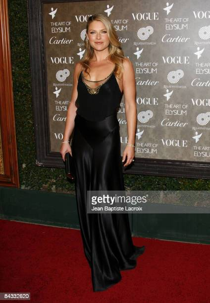 Actress Ali Larter arrives at the Art of Elysium 2nd Annual Heaven Gala held at Vibiana on January 10, 2009 in Los Angeles, California.