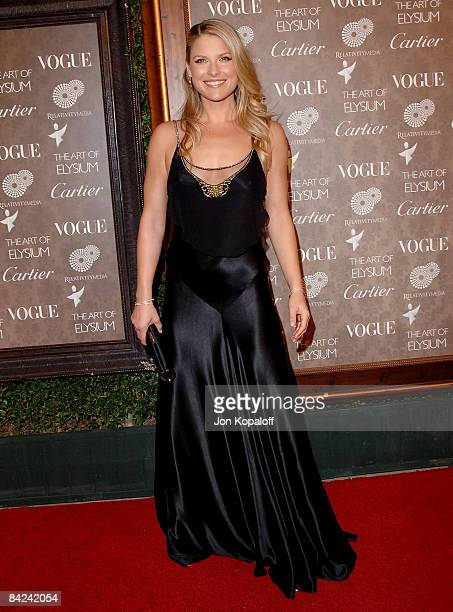 Actress Ali Larter arrives at the Art of Elysium's 2nd Annual Black Tie Charity Gala 'Heaven' at Vibiana on January 10 2009 in Los Angeles California