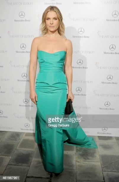 Actress Ali Larter arrives at The Art of Elysium's 7th Annual HEAVEN Gala at the Guerin Pavilion at the Skirball Cultural Center on January 11 2014...