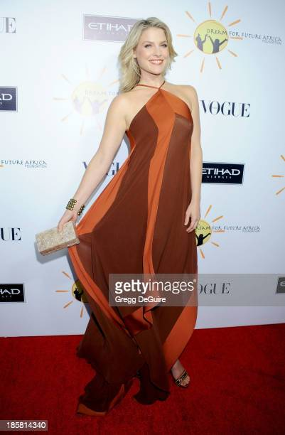 Actress Ali Larter arrives at the Dream For Future Africa Foundation Gala at Spago on October 24, 2013 in Beverly Hills, California.