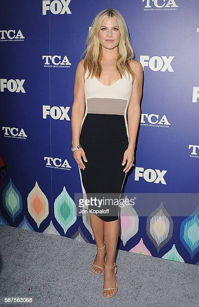Actress Ali Larter arrives at the FOX Summer TCA Press Tour on August 8 2016 in Los Angeles California