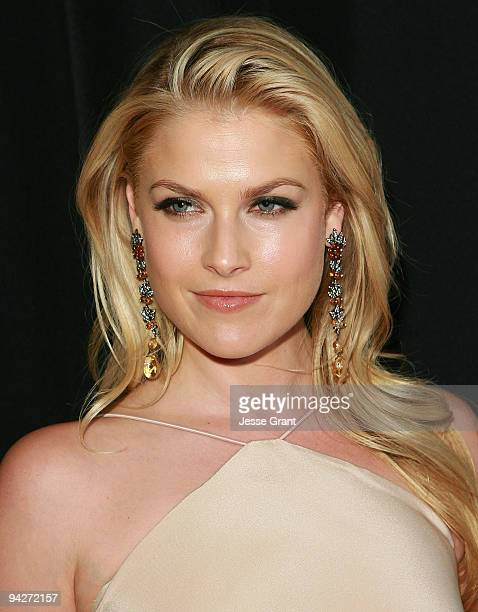 Actress Ali Larter arrives at the Friends Without Borders First Annual Los Angeles Gala at The Roosevelt Hotel on December 10 2009 in Hollywood...