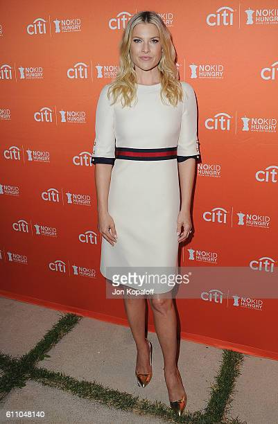Actress Ali Larter arrives at the Los Angeles' No Kid Hungry Dinner on September 28 2016 in Los Angeles California
