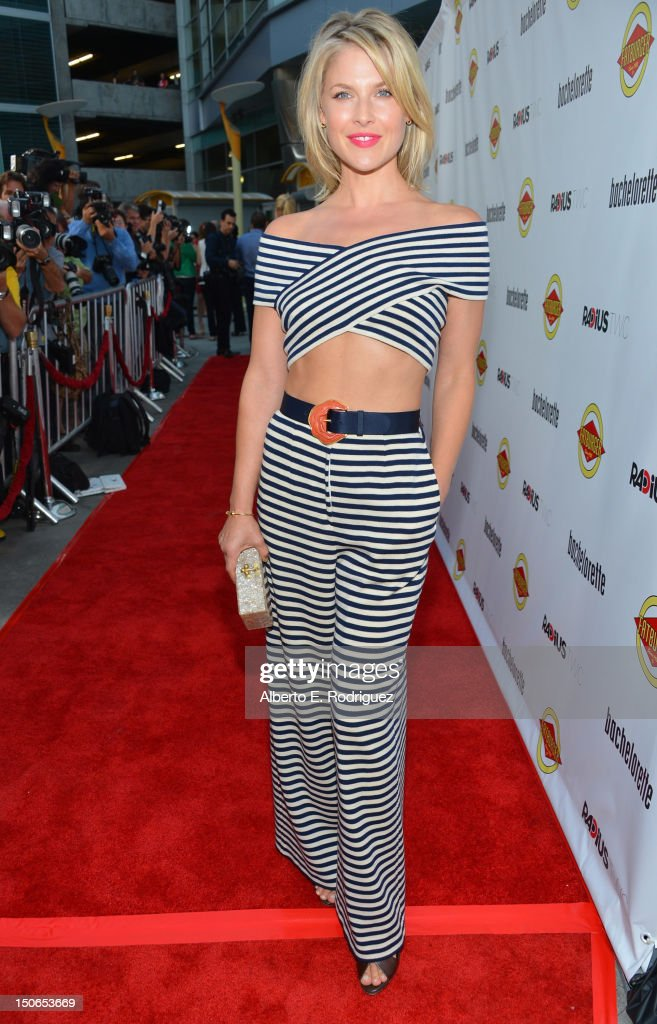 Actress Ali Larter arrives at the premiere of RADiUS-TWC's 'Bachelorette' at ArcLight Cinemas on August 23, 2012 in Hollywood, California.