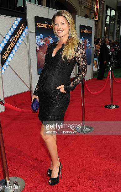 Actress Ali Larter arrives at the premiere of Walt Disney Pictures' Secretariat at the El Capitan Theatre on September 30 2010 in Hollywood California