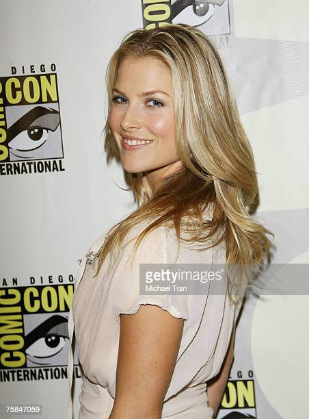 Actress Ali Larter arrives at the San Diego Comic Con 2007 at the San Diego Convention Center on July 28 2007 in San Diego California