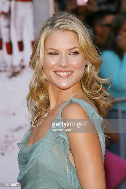 Actress Ali Larter arrives at the world premiere of 'The Game Plan' at the El Capitan Theatre September 23 2007 in Hollywood California