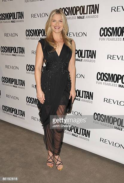 Actress Ali Larter arrives to Cosmopolitan's 2009 Fun Fearless Awards at SLS Hotel on March 2, 2009 in Beverly Hills, California.