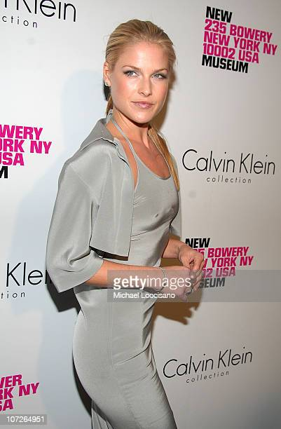 Actress Ali Larter arrives to the Grand Reopening Celebration of the New Museum On The Bowery in New York City on November 28 2007