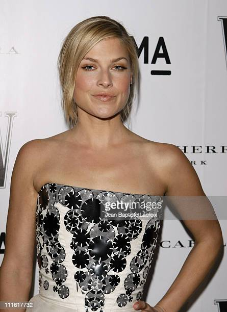 Actress Ali Larter arrives to the Inaugural AvantGarde Gala hosted by W Magazine LACMA held at LACMA BCAM on March 8 2008 in Los Angeles California