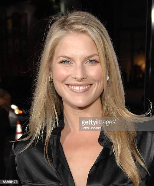 Actress Ali Larter arrives to the Weinstein Co premiere of Zack Miri Make A Porno at Grauman's Chinese Theatre on October 20 2008 in Hollywood...