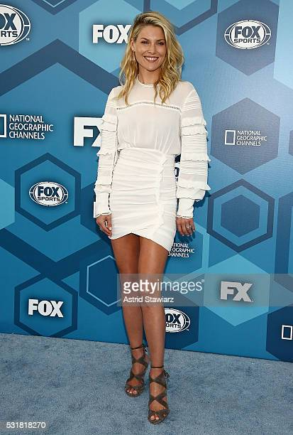 Actress Ali Larter attends FOX 2016 Upfront Arrivals at Wollman Rink Central Park on May 16 2016 in New York City