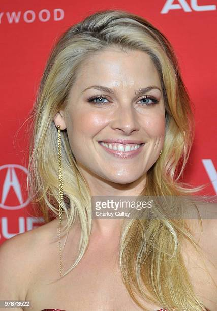 Actress Ali Larter attends the Acura ZDX Redefines Next with sevencity popup exhibition tour event presented by Niche Media's Los Angeles...