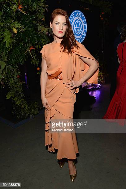 Actress Ali Larter attends The Art of Elysium 2016 HEAVEN Gala presented by Vivienne Westwood Andreas Kronthaler at 3LABS on January 9 2016 in Culver...