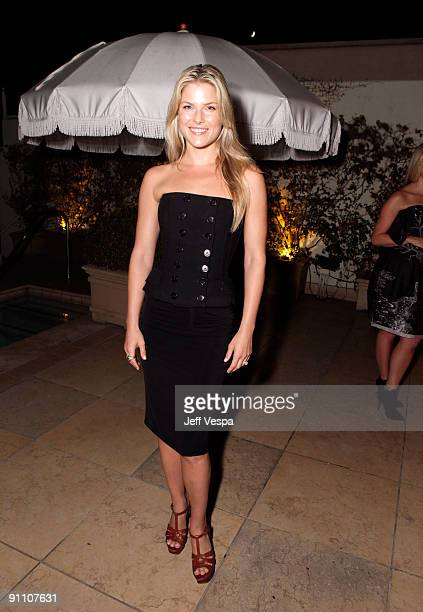 Actress Ali Larter attends The Art of Elysium HEAVEN Gala Committee Dinner hosted by Gilt Groupe at Sunset Tower on September 23, 2009 in West...
