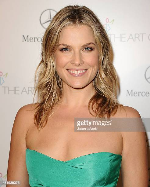 Actress Ali Larter attends the Art of Elysium's 7th annual Heavan gala at Skirball Cultural Center on January 11 2014 in Los Angeles California