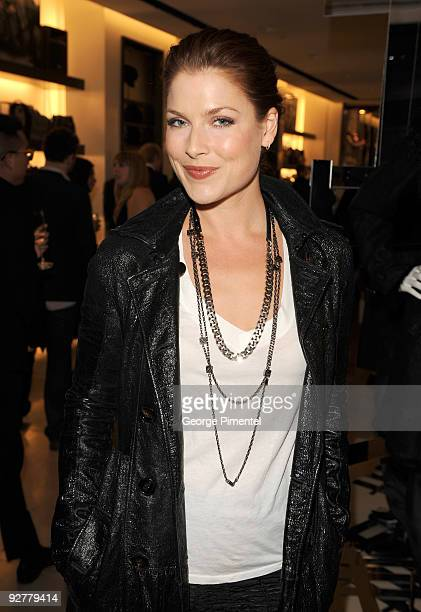 Actress Ali Larter attends the Burberry Store Opening at 146 Bloor Street West on November 4 2009 in Toronto Canada